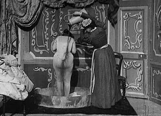 After The Ball - directed by Georges Méliès. First film to show human nudity.