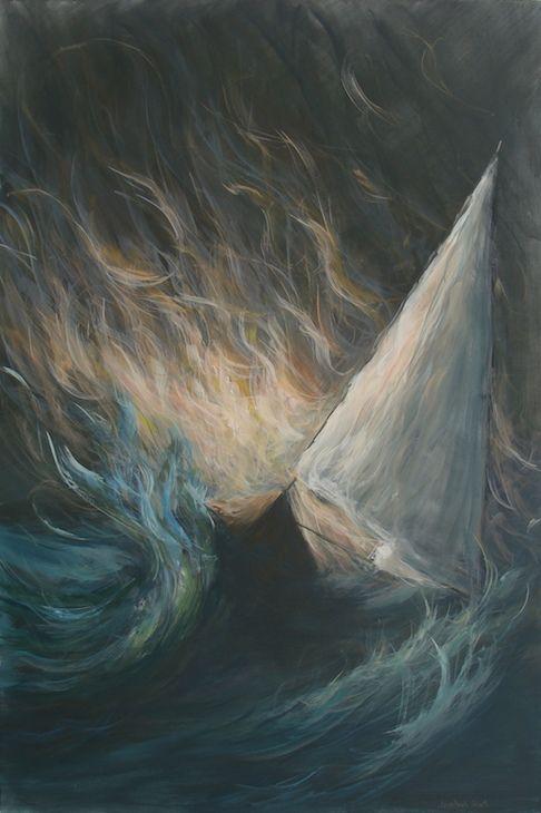 Acrylics on canvas 100x150cm