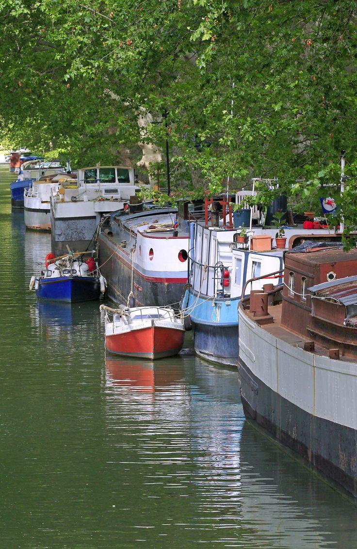 Le canal du midi, classé patrimoine mondial de l'UNESCO www.audetourisme.com