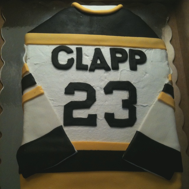 Hockey cake!  #Hockey #cake #ahockeymomreviews