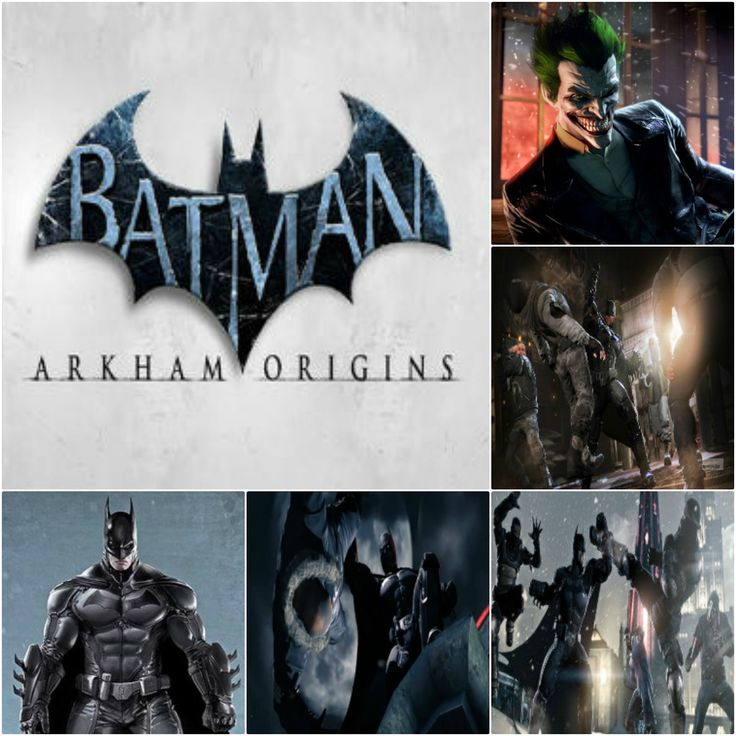 #batman arkham origins #game 2013 #newgames