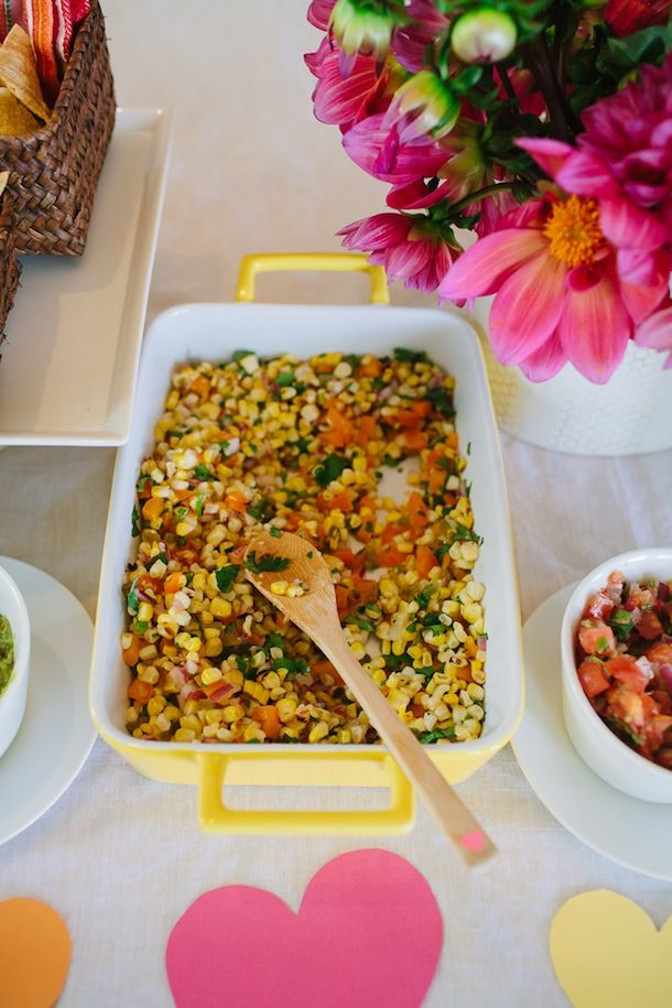 Sweet Corn Salsa | photo by Wynn Myers for Camille Styles