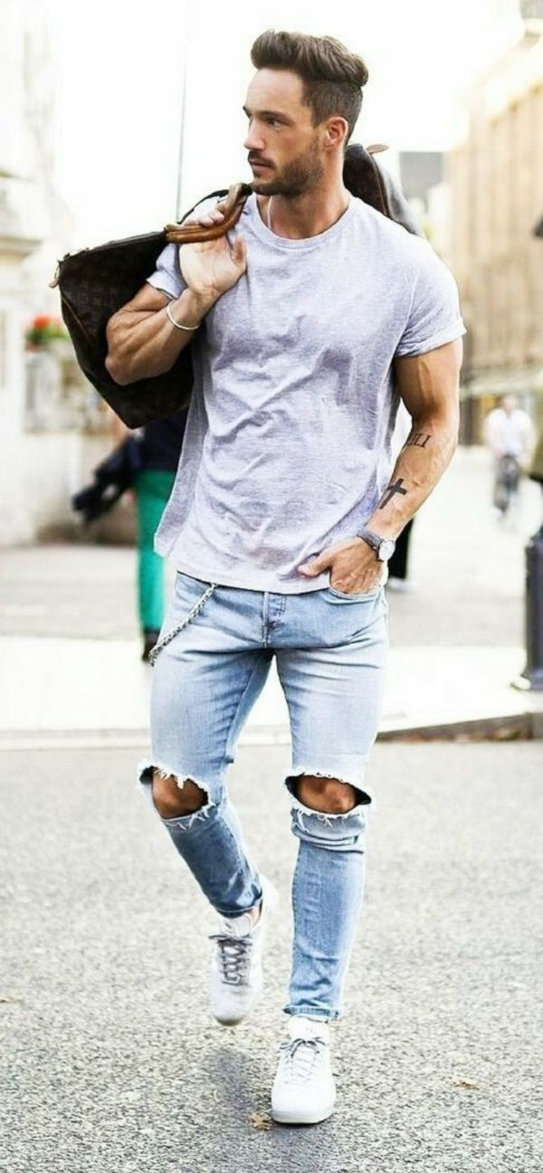 b6fe2cdb 30 Trending Casual Summer Outfits For Men | | Casual Look | in 2019 ...
