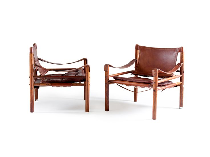 "Norell ""Safari"" Chairs"