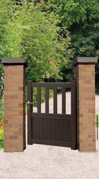 Les 25 meilleures id es concernant portillon aluminium sur for Portail portillon cloture