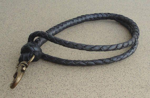 Leather Key Strap Leather Keychain Leather Key Wrist Strap