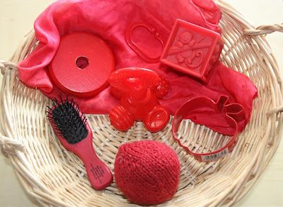 Treasure Basket: Red