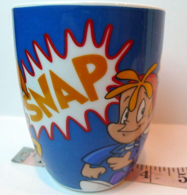 Kellogg's Snap Crackle Pop Coffee or Cereal Mug Rice Krispies  2013 #KelloggCompanyKelloggs