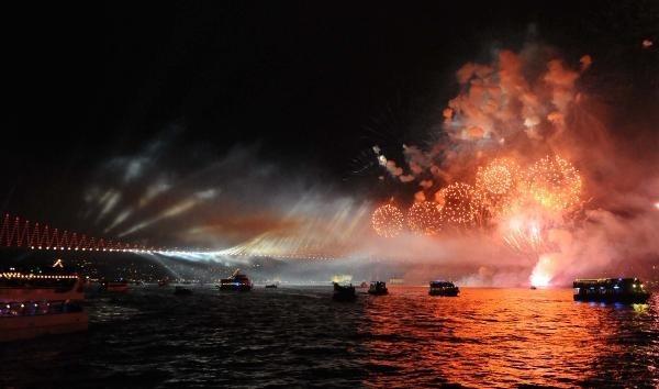 İstanbul - Cumhuriyet Bayramı (Republic Day celebrations)