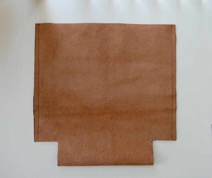 DIY Leather bag pattern