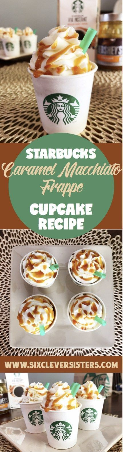 cupcake recipes for bridal shower%0A Starbucks Cupcakes   Starbucks Copycat Recipe   Cake   Cake Decorating    Starbucks Drinks   Caramel   Coffee   Coffee Drinks   Caramel Whip    Caramel