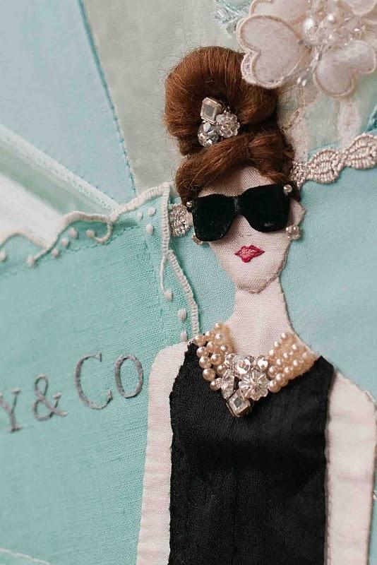 Audrey..a work of  art.: Artists Embroidery, Work Of Art, The Artists, Audrey Hepburn, Beautiful Work, Breakfast At Tiffany, Plays, Audreya Work, Audrey A Work