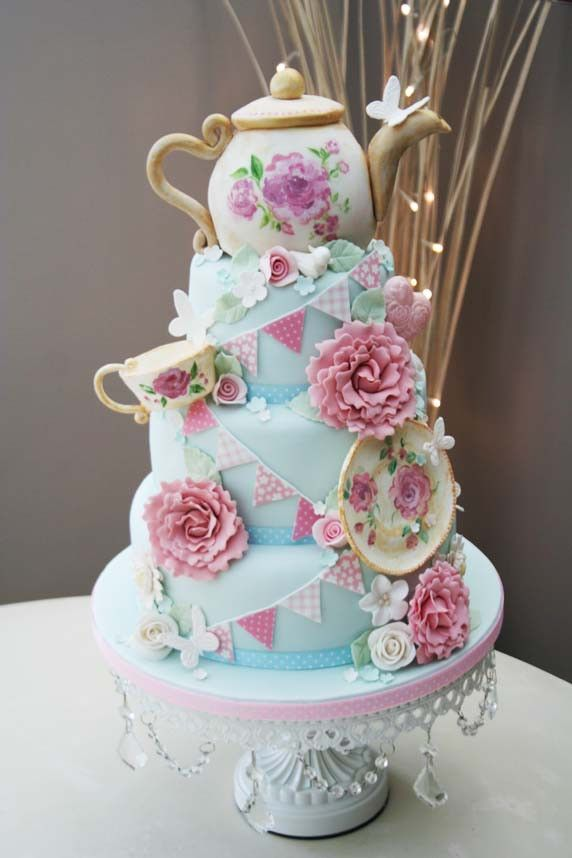 wedding cakes vintage theme 17 best images about tea cups and tea pot cakes on 25884