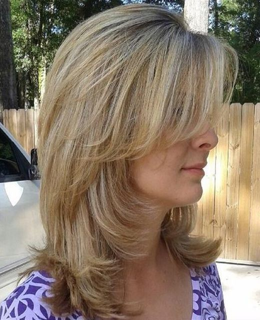 blunt haircuts with layers layered hairstyles 2016 with blunt bangs medium 6305 | 370a6392e065f81929c7145f18a00970 layered hairstyles with bangs stylish hairstyles