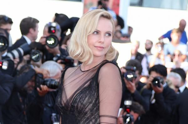 """""""Atomic Blonde"""" star Charlize Theron said she's only met Gabriel Aubry, a model and Halle Berry's ex-partner, in passing."""