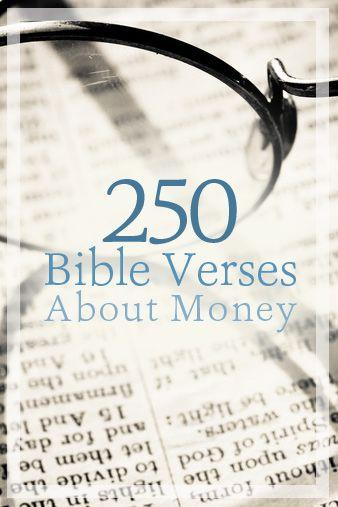 bible verses on budgeting