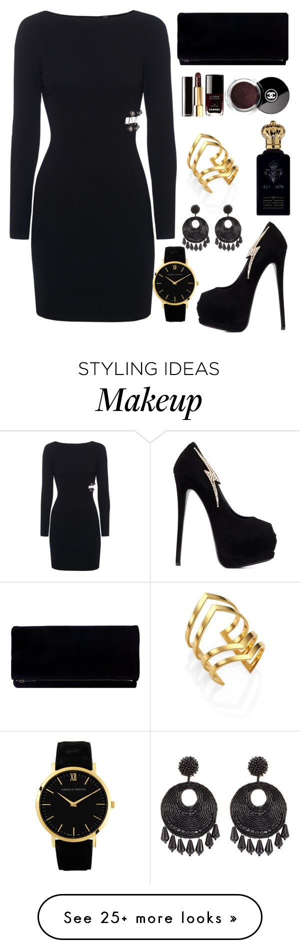 """Club Ze "" by amimareelynn on Polyvore featuring Giuseppe Zanotti, Clive Christian, Larsson & Jennings, Jennifer Zeuner and Kenneth Jay Lane"