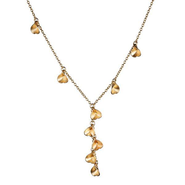 Kalevala Koru / Kalevala Jewelry / MADE IN HELSINKI, EIRA NECKLACE  Designer: Vesa Nilsson, material: bronze or silver