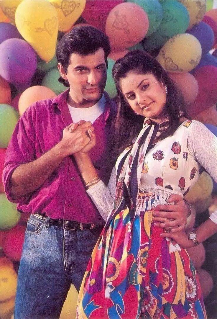 Sanjay Kapoor & Divya Bharti