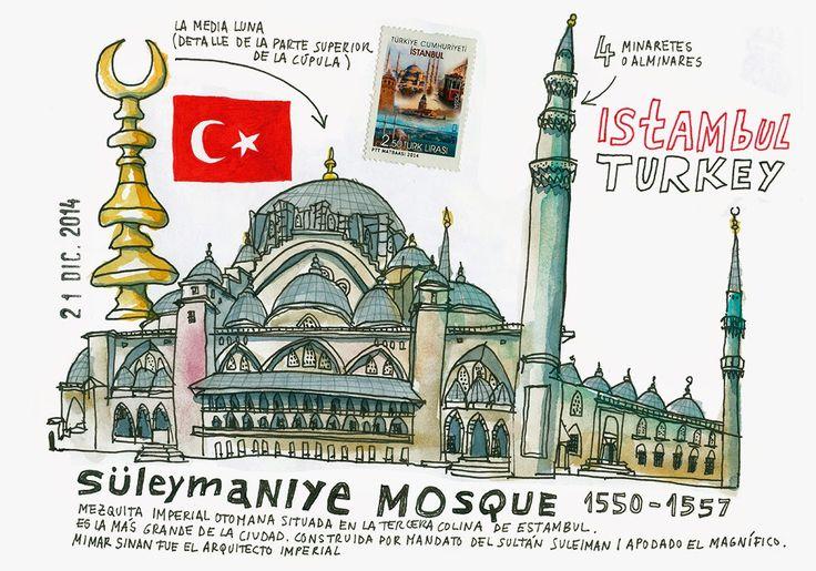 Estambul. spain.urbansketchers.org