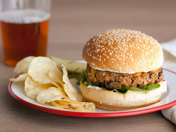 As seen on Guy's Big Bite: Morgan's Veggie PattiesFood Network, Guy Fieri, Burgers Recipe, Morgan Veggies, Veggies Burgers, Guys Fieri, Veggies Patti, Vegetarian Burgers, Veggie Burgers