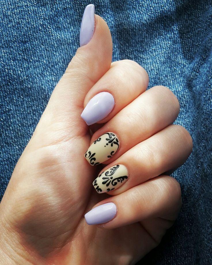 #mauvenails #mattenails #nudenails #nails #beautynails