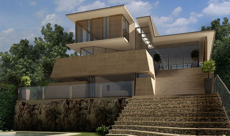Sustainable residential architecture. Tindale Residence located in Longueville, New South Wales by The Quinlan Group, architecture, interior design.