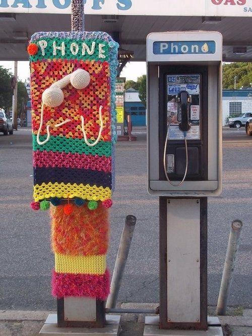 knitspiration - crochet phone box cozy