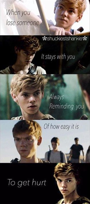 Yeah true but you know what else is pretty cool? FUN AND FUNNY AND HAPPY THINGS LIKE MAKE THINGS LIKE THIS except of when newt first met Thomas and stuff holy fuck uou people on Pinterest are sad
