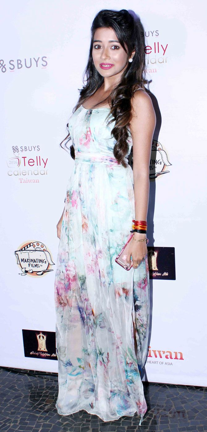 Tina Dutta at 5th Edition of the Telly Calendar announcement event. #Bollywood #Fashion #Style #Beauty #Hot #Punjabi