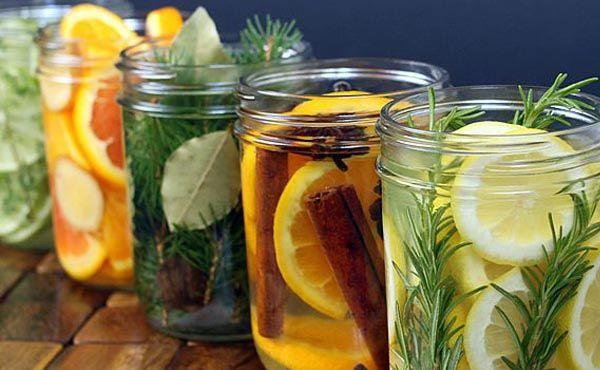 Návod krok za krokom na prírodné vône, ktoré nádherne osviežia Váš domov. Nápad, homemade, diy, urob si sám, osviežovač, zdravie, aróma, extrakty, citrusy