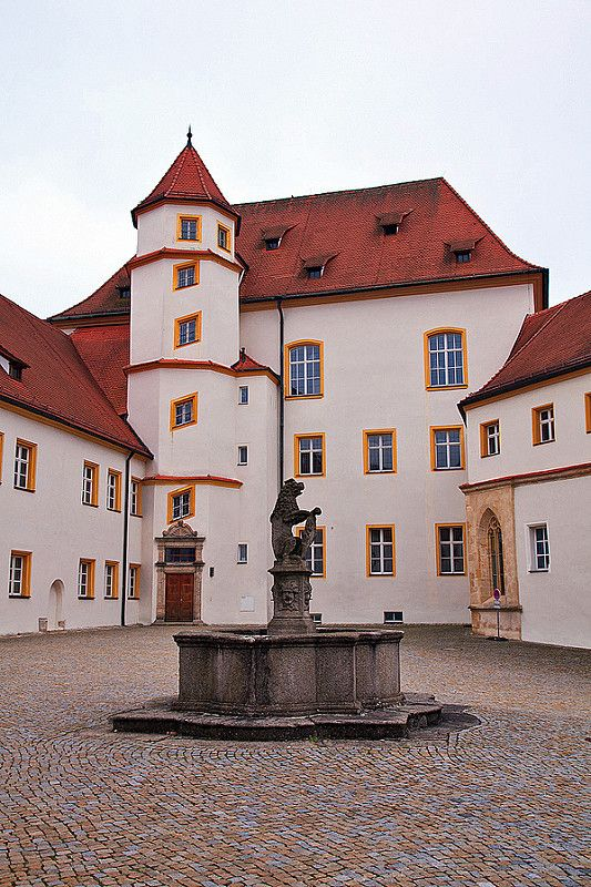 Castle Sulzbach in Sulzbach-Rosenberg, Bavaria, Germany. Home of Berengar of Sulzbach II, Mike's 28th great-grandfather. Possibly the home site of Heinrich von Schweinfurt, Mike's 32nd great grandfather.