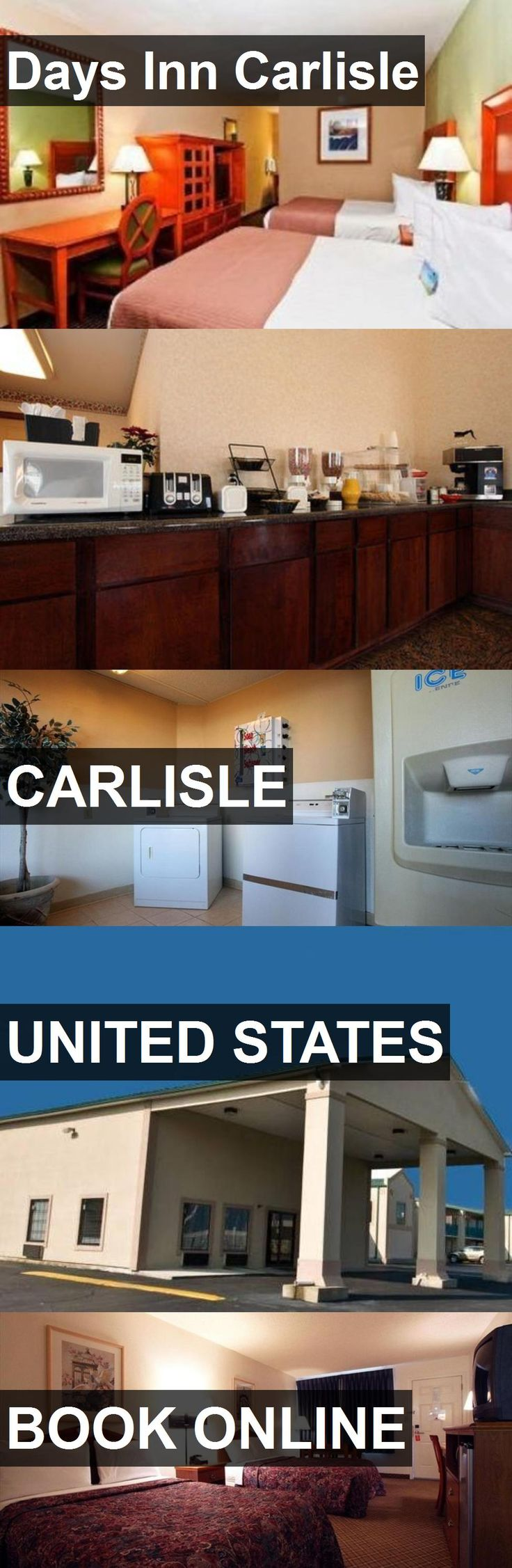 Hotel Days Inn Carlisle in Carlisle, United States. For more information, photos, reviews and best prices please follow the link. #UnitedStates #Carlisle #hotel #travel #vacation