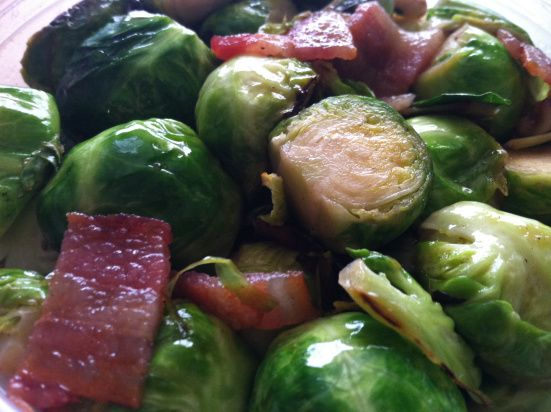 Maple Glazed Brussels Sprouts | My Health Obsession | Pinterest