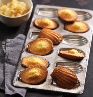 Recette de madeleines nature, un dessert à la française facile à faire