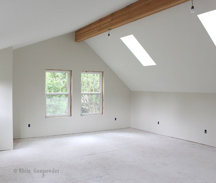 Paint, Oyster White Sherwin-Williams On Walls. Pure White
