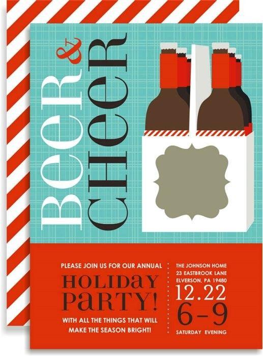 Potluck Dinner Party Ideas Part - 36: #christmas #holiday #potluck #dinner #party #invitation