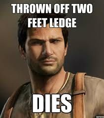 Uncharted logic. Hate it when this happens.