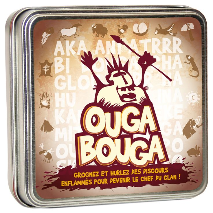 Jeux de société Ouga bouga - 11,00€