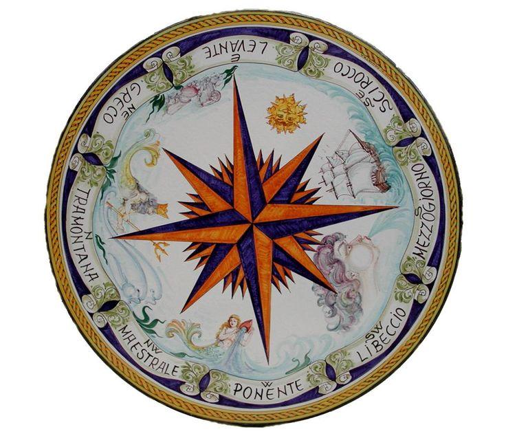 Nautical Compass Rose Rug: 1000+ Images About La Rosa Dei Venti On Pinterest