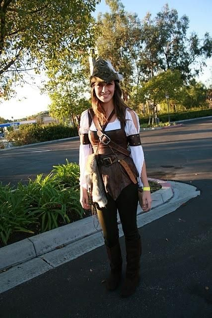 A Nice Robin Hood Costume For Women