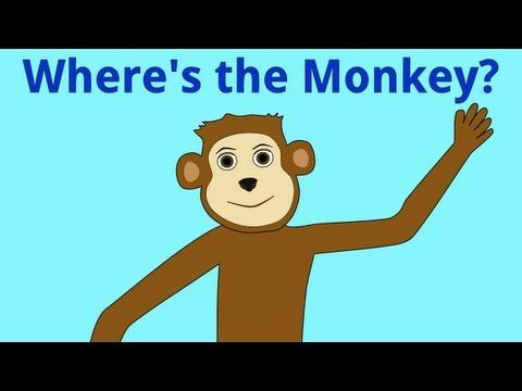 Where's the Monkey? Positional words