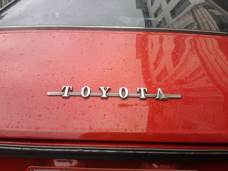 Toyota...I wonder where this one is from? #toyota