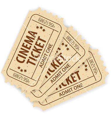 Cinema tickets vector 740803 - by TAlex on VectorStock®