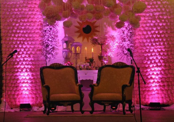 Tangled Wedding Inspired Backdrop/Stage