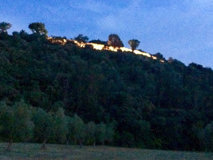Ruderi Roselle Mura etrusche