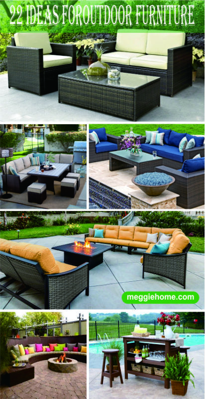 22 awesome outdoor patio furniture options and ideas outdoor rh pinterest com