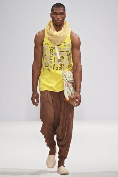 Cape Town designer Stiaan Louw - SS12