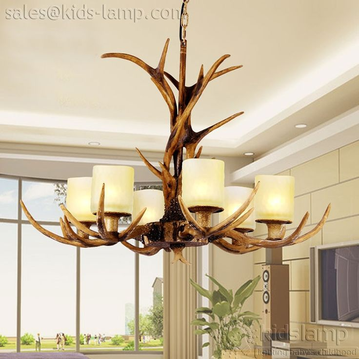 12 best kids nursery chandelier pendant lights images on pinterest antique fake faux antler chandeliers lighting aloadofball Image collections