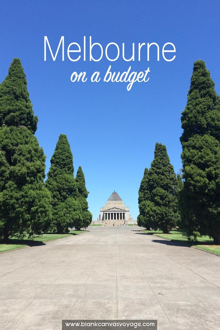 Exploring Melbourne on a budget it's easy, because there are a lot of free things to do. Our Melbourne backpacker's travel guide will show you how. Read More: http://blankcanvasvoyage.com/australia/melbourne-budget/